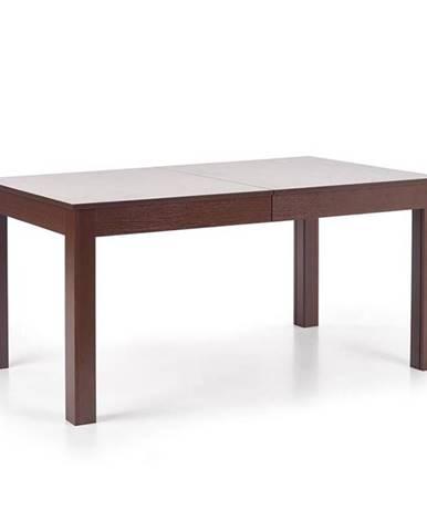 Seweryn rozkladací jedálenský stôl tmavý orech