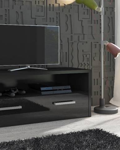 Tirana tv stolík čierna
