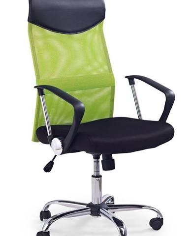 Vire kancelárska stolička s podrúčkami zelená