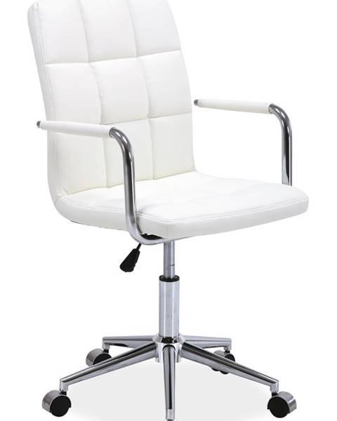 Signal Q-022 kancelárska stolička biela