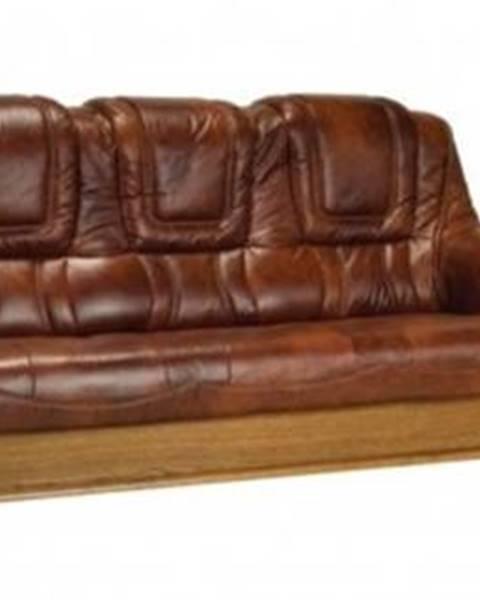 Pyka Roma 3R+1+1 kožená sedacia súprava s rozkladom D3