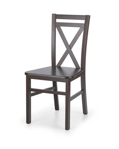 Dariusz 2 jedálenská stolička tmavý orech