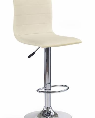 H-21 barová stolička krémová