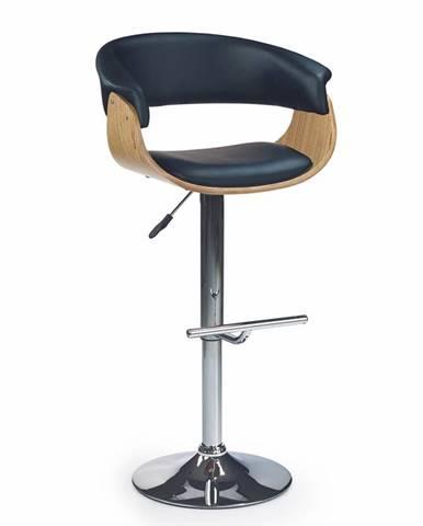 H-45 barová stolička dub svetlý