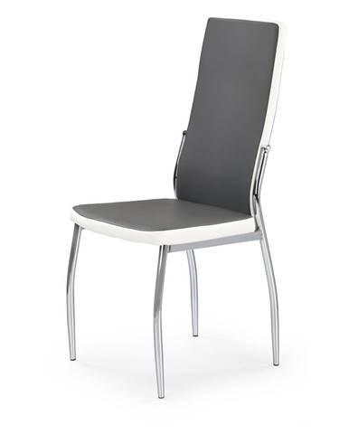 K210 jedálenská stolička sivá