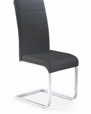 K85 jedálenská stolička čierna