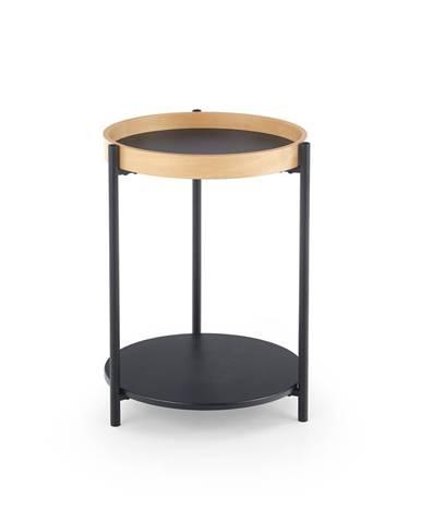 Rolo okrúhly konferenčný stolík prírodný dub