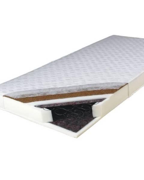 Tempo Kondela Kokos Medium obojstranný pružinový matrac 80x200 cm pružiny