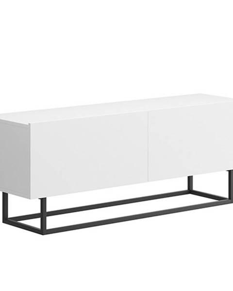 Tempo Kondela Spring ERTV 120 tv stolík biela