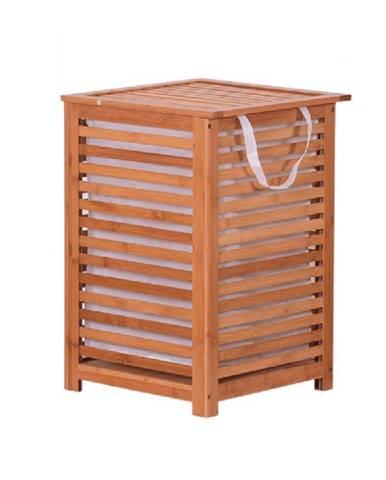Basket kôš na prádlo prírodná