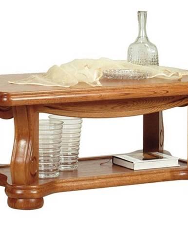 Ciežka konferenčný stolík drevo D3