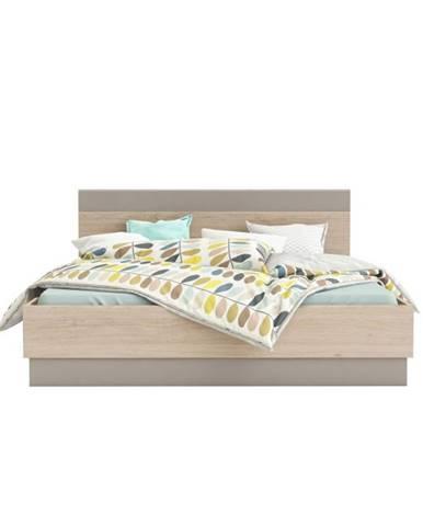 Graphic Typ 3 160 manželská posteľ dub arizona