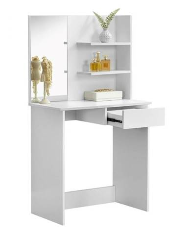 Beleza toaletný stolík biela