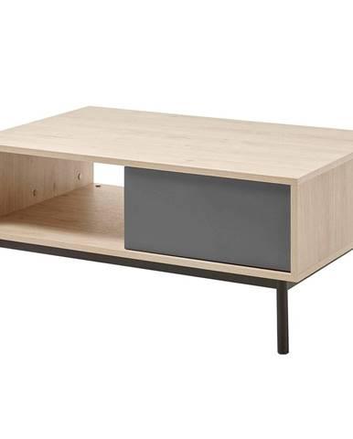 Bergen BL104 konferenčný stolík dub jaskson hickory