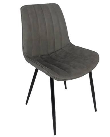 Hazal jedálenská stolička svetlosivá