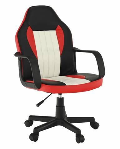 Malik New kancelárske kreslo s podrúčkami čierna