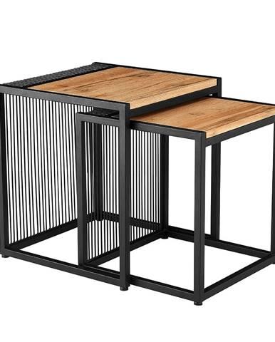 Rimbo príručný stolík (2 ks) dub
