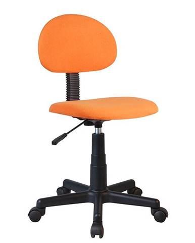 Salim kancelárska stolička oranžová