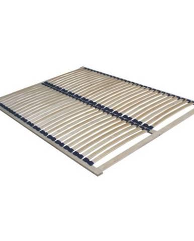 Twinpack lamelový rošt 180x200 cm brezové drevo