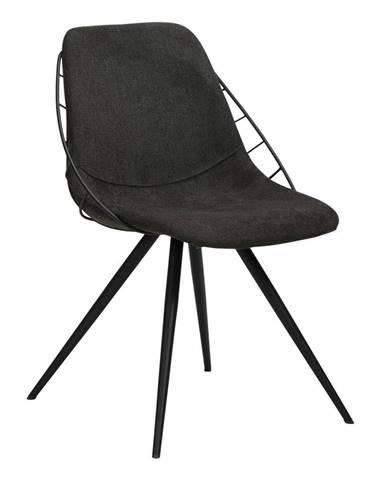 Čierna jedálenská stolička DAN-FORM Denmark Sway