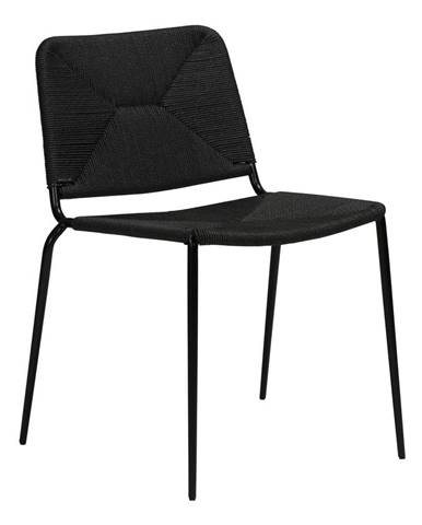 Čierna stolička DAN-FORM Denmark Stiletto