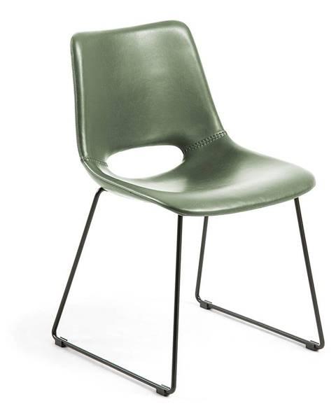 La Forma Zelená jedálenská stolička La Forma Zahara