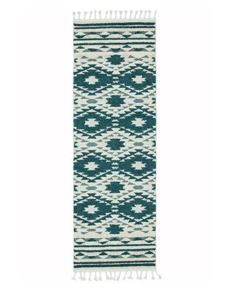 Asiatic Carpets Zelený koberec Asiatic Carpets Taza, 80 x 240 cm