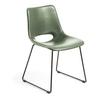 Zelená jedálenská stolička La Forma Zahara