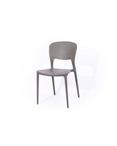 Sivá záhradná stolička Le Bonom Wendy