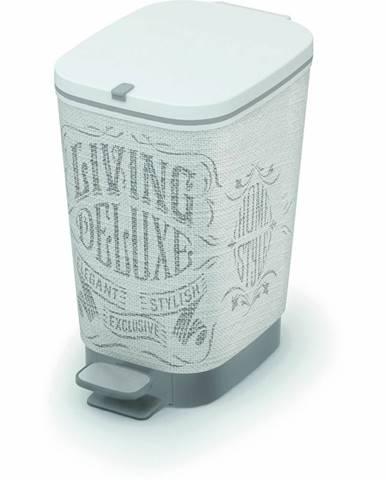 KIS Koš na odpad Chic Bin S - Laundry Bag, 10L 080717WHGLLB