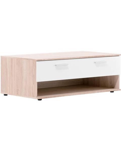 IDEA Nábytok Konferenčný stolík LUND 54 dub/biela