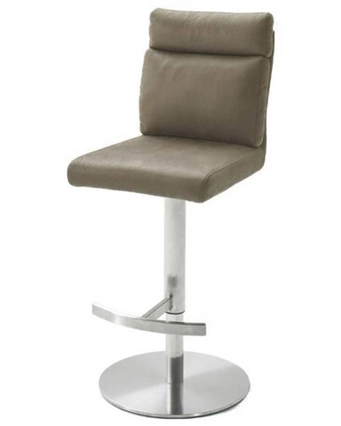 Sconto Barová stolička RILEY svetlohnedá