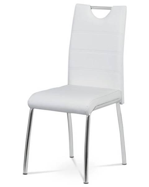 Sconto Jedálenská stolička POLA biela
