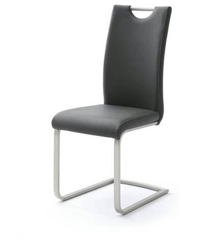 Jedálenská stolička PIPER čierna