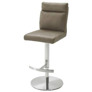 Barová stolička RILEY svetlohnedá