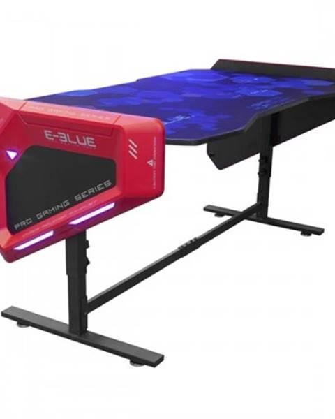 eBlue Herný stôl E-Blue EGT003BK,RGB podsvietenie,výškovo nastaviteľný