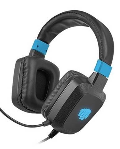 Herné stereo slúchadlá FURY Raptor, RGB, čierna