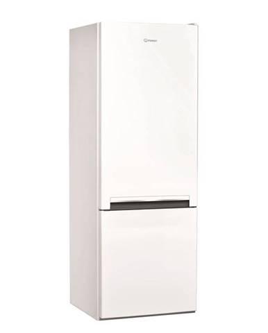 Kombinácia chladničky s mrazničkou Indesit LI6 S1E W biele