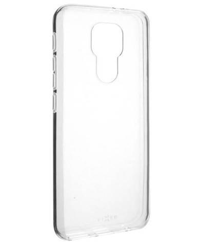Kryt na mobil Fixed na Motorola Moto E7 Plus priehľadný