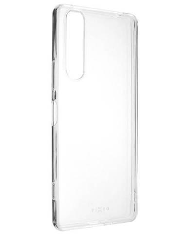 Kryt na mobil Fixed na Sony Xperia 1 II priehľadný