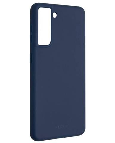 Kryt na mobil Fixed Story na Samsung Galaxy S21 5G modrý