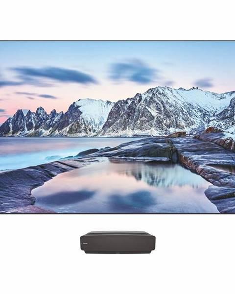 Hisense Laser TV Hisense 100L5F-B12smart s optickým panelom čierna/siv