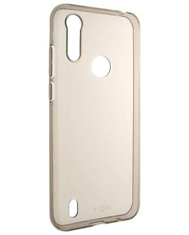 Kryt na mobil Fixed Slim na Motorola Moto E6s 2020 - kouřový