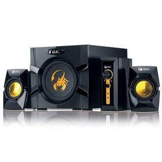 Reproduktory Genius GX Gaming SW-G2.1 3000, Verze II. čierne/zlaté