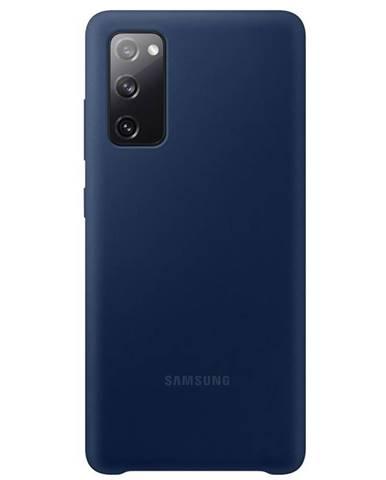 Kryt na mobil Samsung Silicone Cover na Galaxy S20 FE modrý