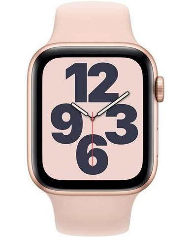 Inteligentné hodinky Apple Watch SE GPS 44mm púzdro zo zlatého