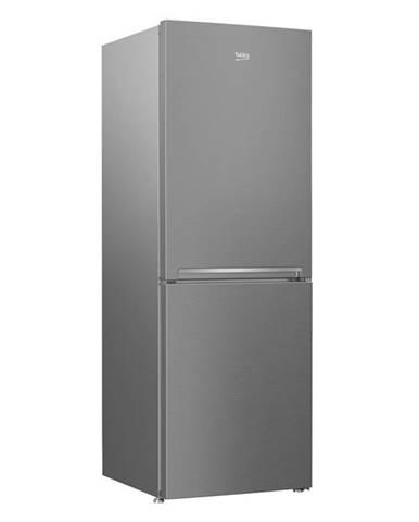 Kombinácia chladničky s mrazničkou Beko Csa240k30sn nerez