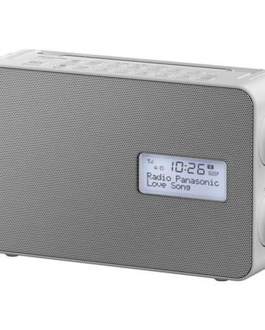 Rádioprijímač s DAB+ Panasonic RF-D30BT biely