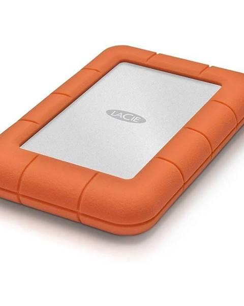 Lacie Externý pevný disk Lacie Rugged Mini 2TB, USB 3.0 oranžový