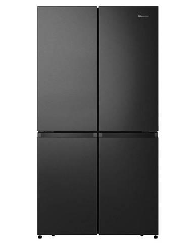 Americká chladnička Hisense Rq758n4saf1 čierna